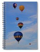 Hot Air Spiral Notebook