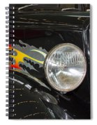 Hot And Ready Spiral Notebook