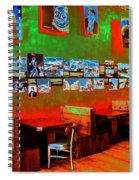 Hot Bar-glow Spiral Notebook