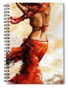 Hot Breeze 03 Spiral Notebook