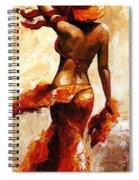 Hot Breeze  Spiral Notebook