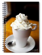 Hot Chocolate With Creme Chantilly Spiral Notebook