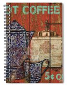 Hot Coffee Spiral Notebook