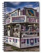 Hot Dogs Spiral Notebook