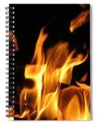 Hot Fire Spiral Notebook