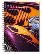 Hot Ford Spiral Notebook