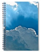 Hot Italian Clouds Spiral Notebook