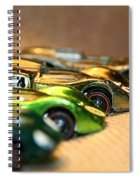 Hot Line Up Spiral Notebook