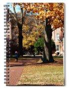 Hot Pink Hoodie - Davidson College Spiral Notebook