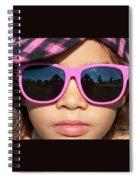 Hot Pink Sunglasses Spiral Notebook
