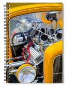 Hot Rod Spiral Notebook