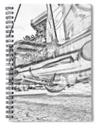 Hot Rod Exhausting Spiral Notebook