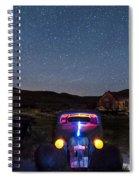 Hot Rod Nights Spiral Notebook