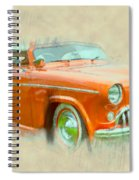Hot Rod Spiral Notebook
