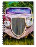 Hot Rod Show Spiral Notebook