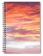 Hot Sky Spiral Notebook