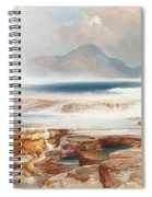 Hot Springs Of Yellowstone Spiral Notebook