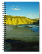 Hot Springs Yellowstone Spiral Notebook