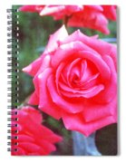 Hot Summer Bouquet Spiral Notebook