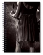Hot Summer Night Spiral Notebook
