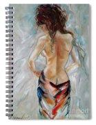 Hot Summer Spiral Notebook