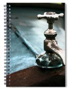 Hot Water Spiral Notebook