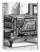 Hot Water Oven, 1875 Spiral Notebook