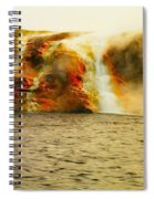 Hot Water Pouring Spiral Notebook
