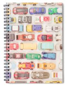 Hot Wheels Square Format Spiral Notebook