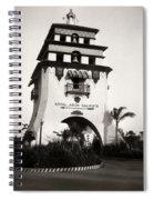 Hotel Agua Caliente Mexico Spiral Notebook