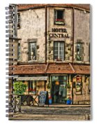 Hotel Central In Beaune France Spiral Notebook