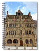 Hotel De Ville - Paray Le Monial Spiral Notebook