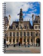 Hotel De Ville The Paris City Hall Spiral Notebook