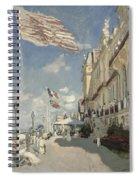 Hotel Des Roches Noires Spiral Notebook