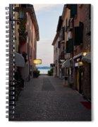 Hotel Eden. Sirmione Spiral Notebook
