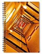 Hotel Hallway Spiral Notebook