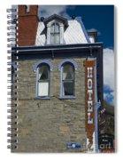 Hotel In Silverton Spiral Notebook