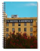 Hotel Lawrence Spiral Notebook