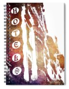Hotel Prague Spiral Notebook