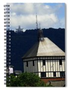 Hotel Roanoke And Star Spiral Notebook