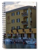 Hotel Sirmione. Lago Di Garda Spiral Notebook