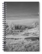 Houcks Ridge  8d00081i Spiral Notebook