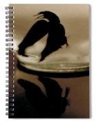 Hour Glass Spiral Notebook