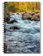 Housatonic River Autumn Spiral Notebook