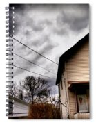 Old House 3 Spiral Notebook