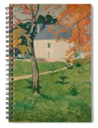 House Among Trees Spiral Notebook