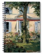 House At Rueil Spiral Notebook