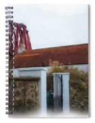 House At The Bridge Spiral Notebook