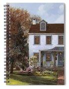 house Du Portail  Spiral Notebook