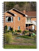 House From The Highest Point Spiral Notebook